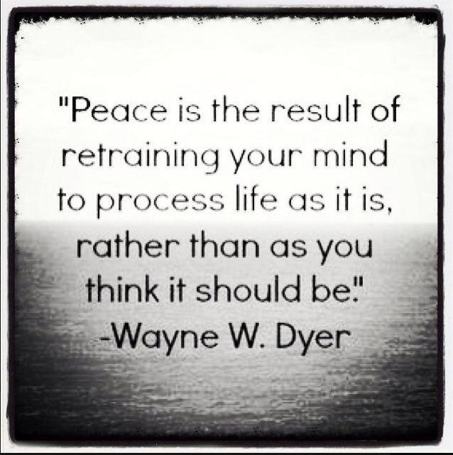 Mind-quote-by-Wayne-Dyer-about-gaining-peace-of-mind-conditioning-your-mind-to-think-positive-thoughts-and-embrace-self-beliefs-about-success-and-happiness.
