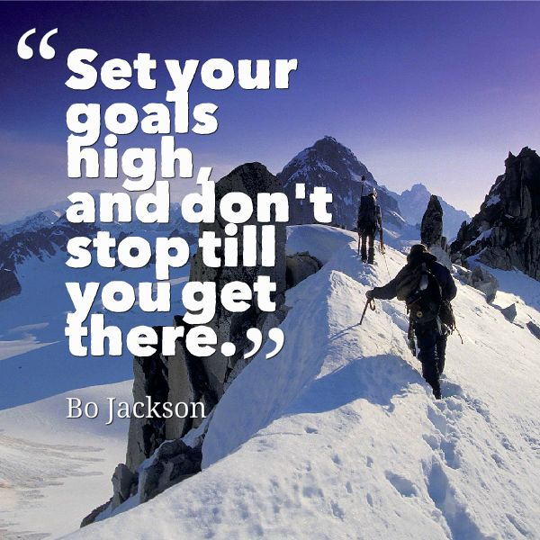 Bo-Jackson-quotes-and-images-about-setting-goals-and-achieving-them-set-your-goal-and-stay-consistent-with-it-until-you-turn-it-into-success-aim-high-in-life.