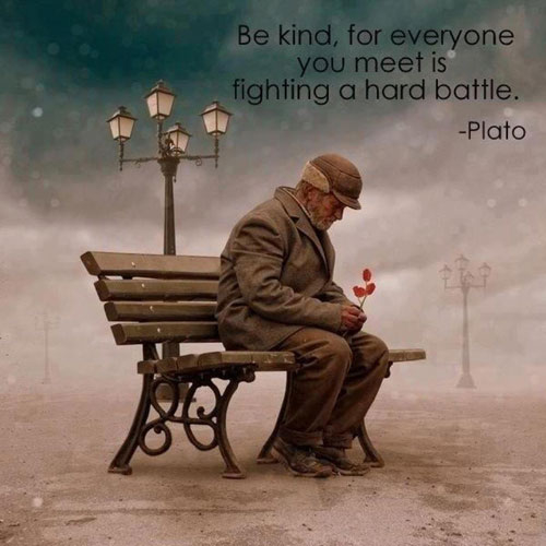 inspirational-quotes-and-images-about-being-kind-to-the-people-that-you-meet - positive messages to keep your mind inspired and uplifted