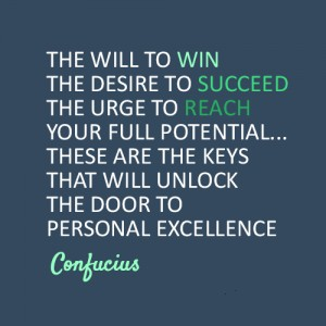 motivational-confucius-quote-about-having-the-will-to-win-the-unstopable-desire-to-succeed-and-the-great-urge-to-aim-and-reach-ones-true-full-potential-in-life-personal-excellence - If you don't allow yourself to become a failure, nothing else on earth would succeed in holding you back from achieving success.