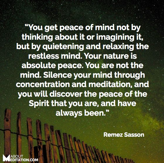 how to clear your mind of negative thoughts