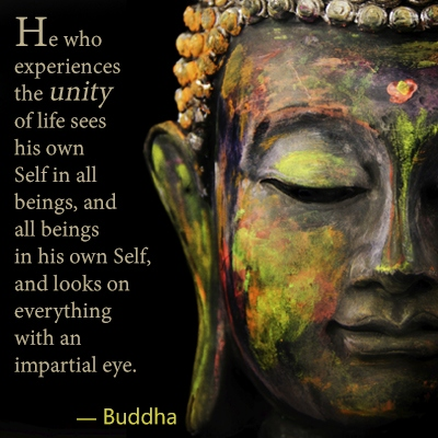 buddha-unity-quote-about-seeing-yourself-in-others-and-helping-others-to-succeed-with-their-goals-and-dreams. if you want to live in peace with yourself and experience a succesful life, you would have to find out how to live in peace with yourself and others