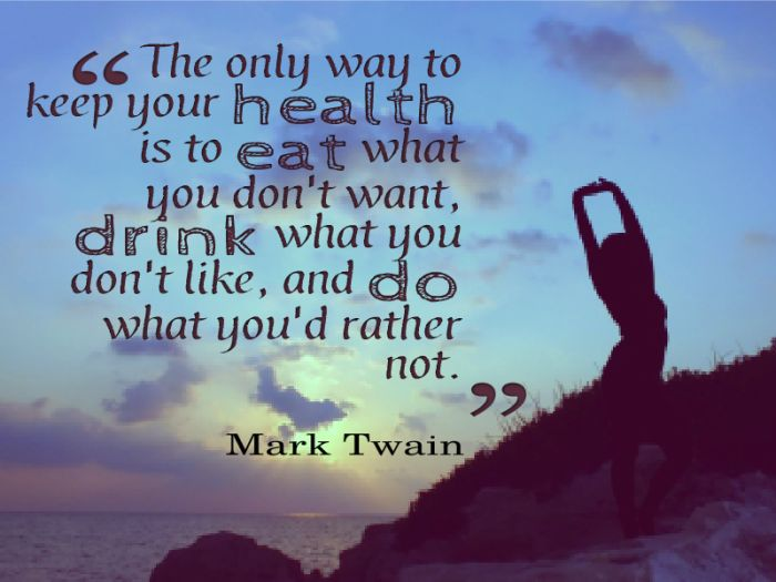 Good Health Quotes Pleasing Good Health Quotes And Images  Drink And Eat Healthy Quotes