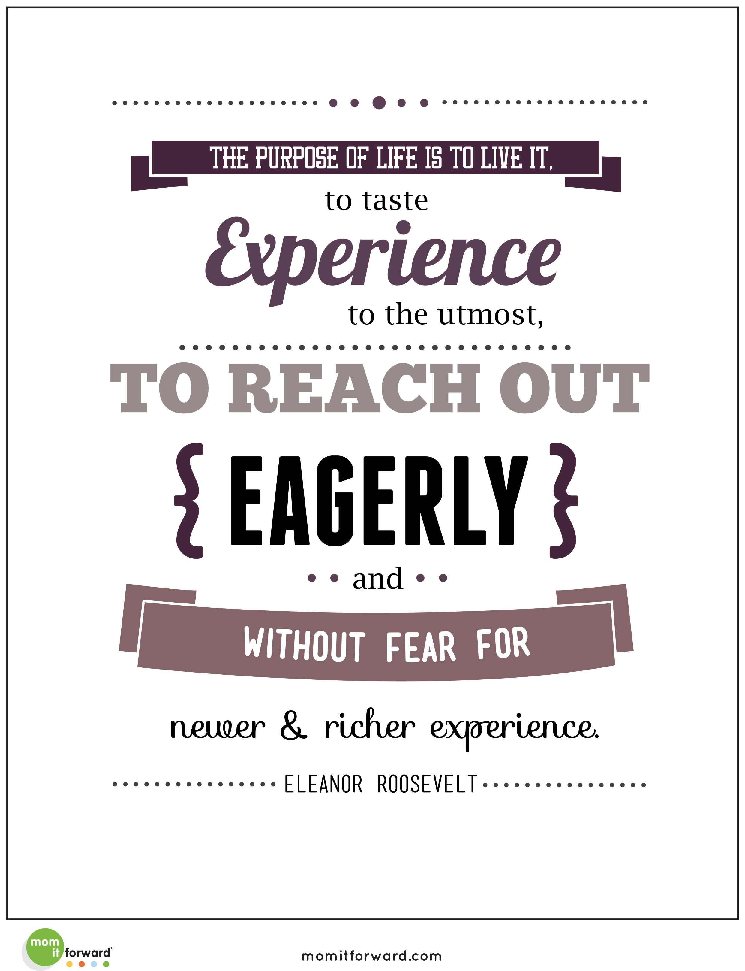 Eleanor Roosevelt Quote | Inspirational And Motivational Eleanor Roosevelt Quotes Inspiring