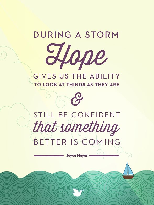 ... Joyce Meyer Quote About Hope And The Ability  ...