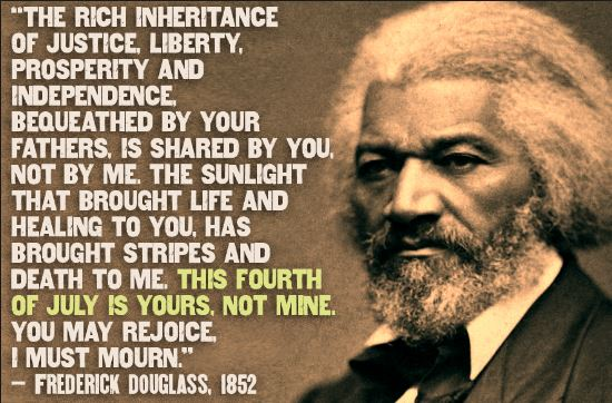frederick douglass 4th of july speech thesis At the invitation of the rochester ladies anti-slavery society, frederick douglass delivered this speech on july 5, 1852, at corinthian hall in rochester, new york it was reported and reprinted in northern newspapers and was published and sold as a forty-page pamphlet within weeks of its delivery.