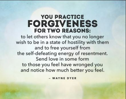 With Little Help From Its Friends Peace >> Forgiveness Images and Quotes – Having a Forgiving Heart – Learning to Forgive Yourself and ...