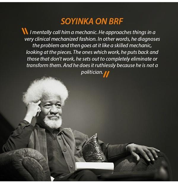 wole-Soyinka-nigerian-quote-about-politicians-and-being-a-mechanic-with-ones-approach-of-doing-things-quotes-and-proverbs-from-nigeria - solving a problem by looking at it from every angel in order to find the roots to the problem - inspirational, motivational, inspiring