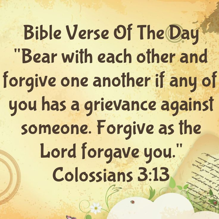 ... Forgiveness Quote Of The Day From A Bible  ...