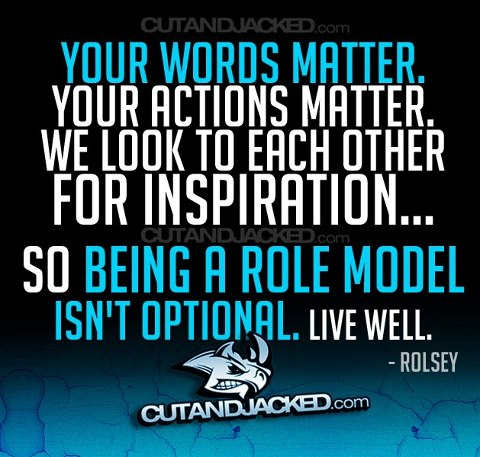 Role Model Quotes Entrancing Positive Role Model Quotes With Images  Quote With Image About