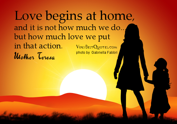 quotes about home and love - photo #12