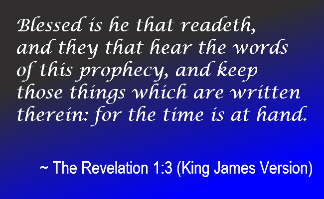 Bible revelations revelation in the bible end time prophecies