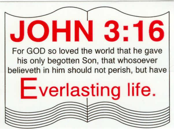 john 3:16 symbol