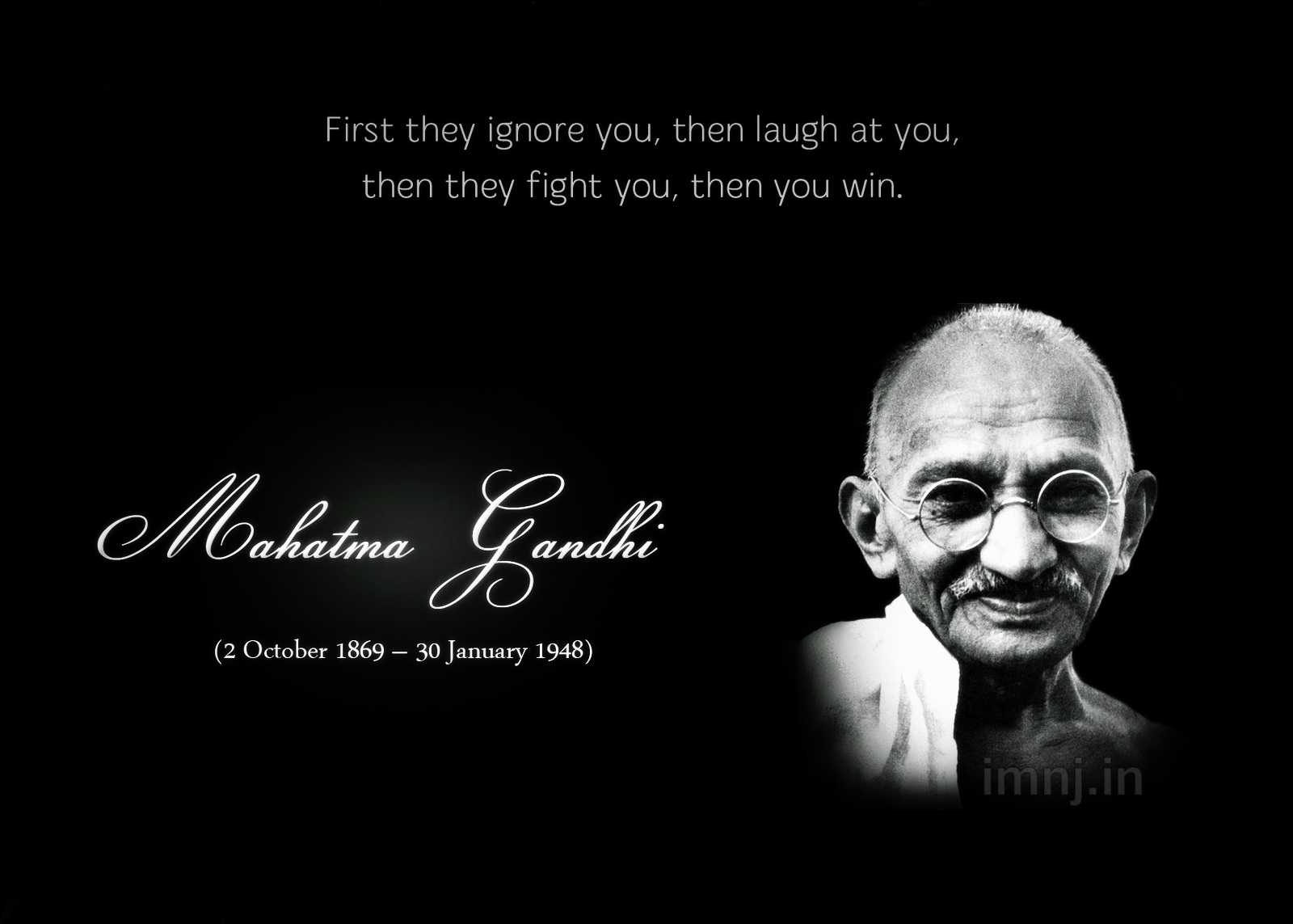 Gandhi Famous Quotes About Life