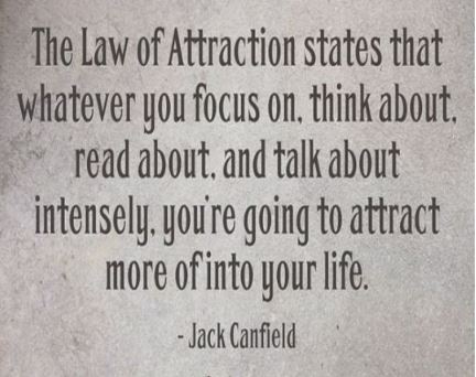 Jack-Canfield-inspirational-quote-about-the-law-of-attraction-talking-about-the-live-that-you-deserve-thinking-things-into-existence..