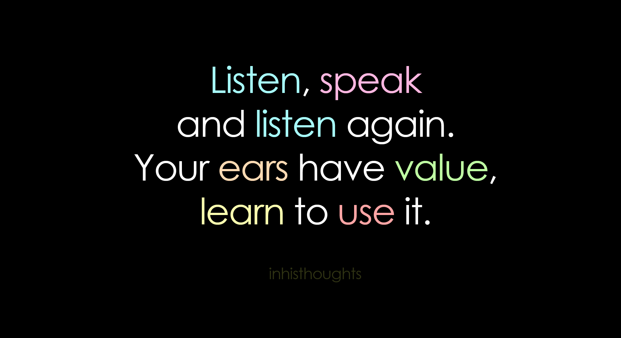 learn to listen quotes - photo #8