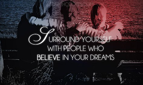Believe in Your Dreams Motivational Quotes and Images - goals, goal, desire, desires, tast, taaks, successful, succeed, achieve, manifest, attain, inspirational, inspiration, motivation, Following and Believing in the Success of Your Dream Quotes