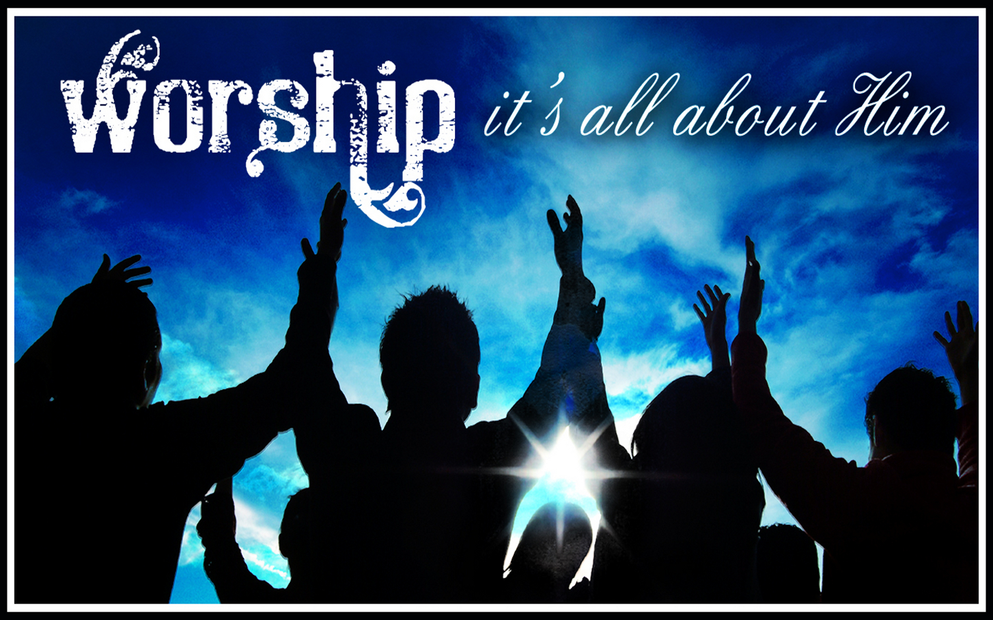 describe how christians would worship god Christian worship happens when we sing to god, whether in church or alone - in our cars or in the shower if our desire is to please the heart of god, it is worship, no matter where the location or how many are involved.