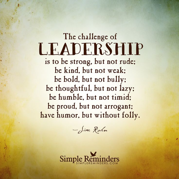 Good Leader Inspirational Quotes – Quote about Great ...
