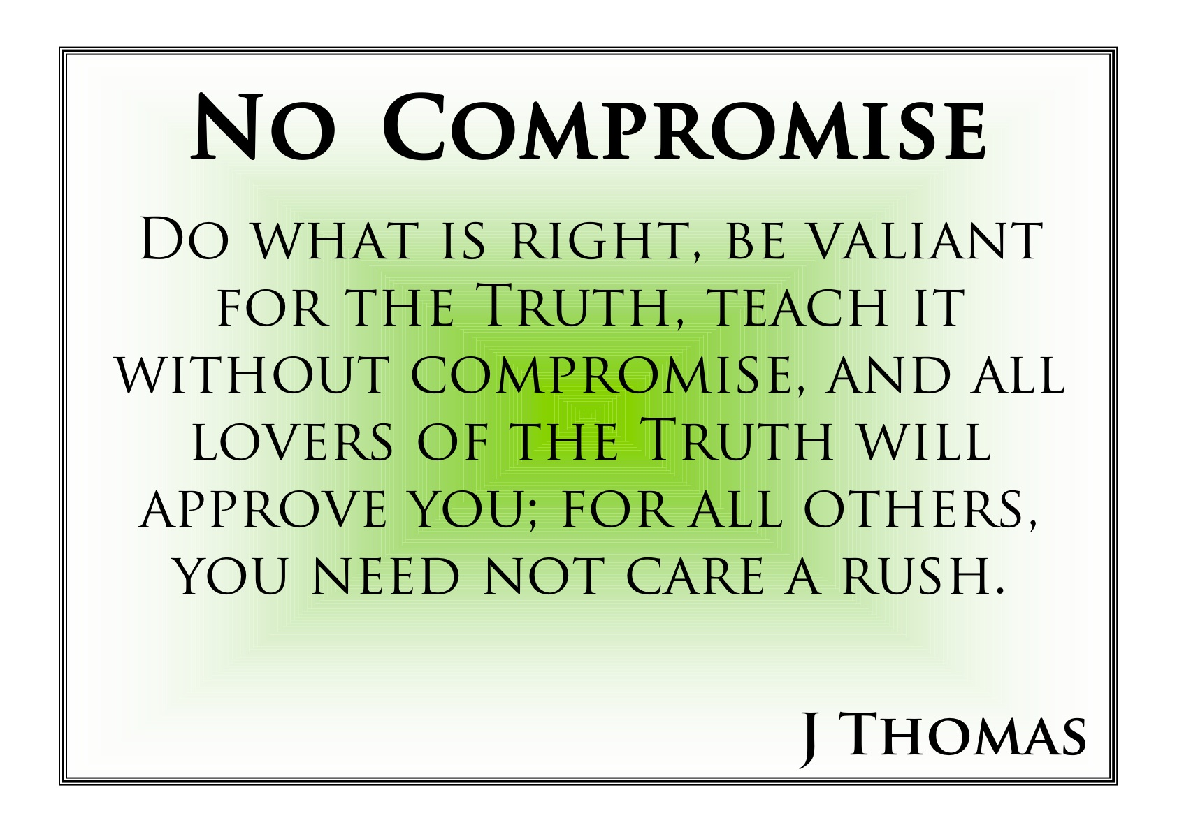 compromise does not resolve conflict it Prevent future conflict, but that does not mean it was easy how can compromise resolve an ongoing conflict how has compromise been used to end conflict.