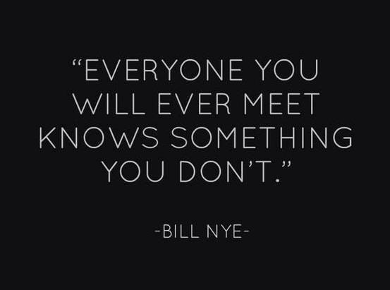 the most important quote everyone you meet
