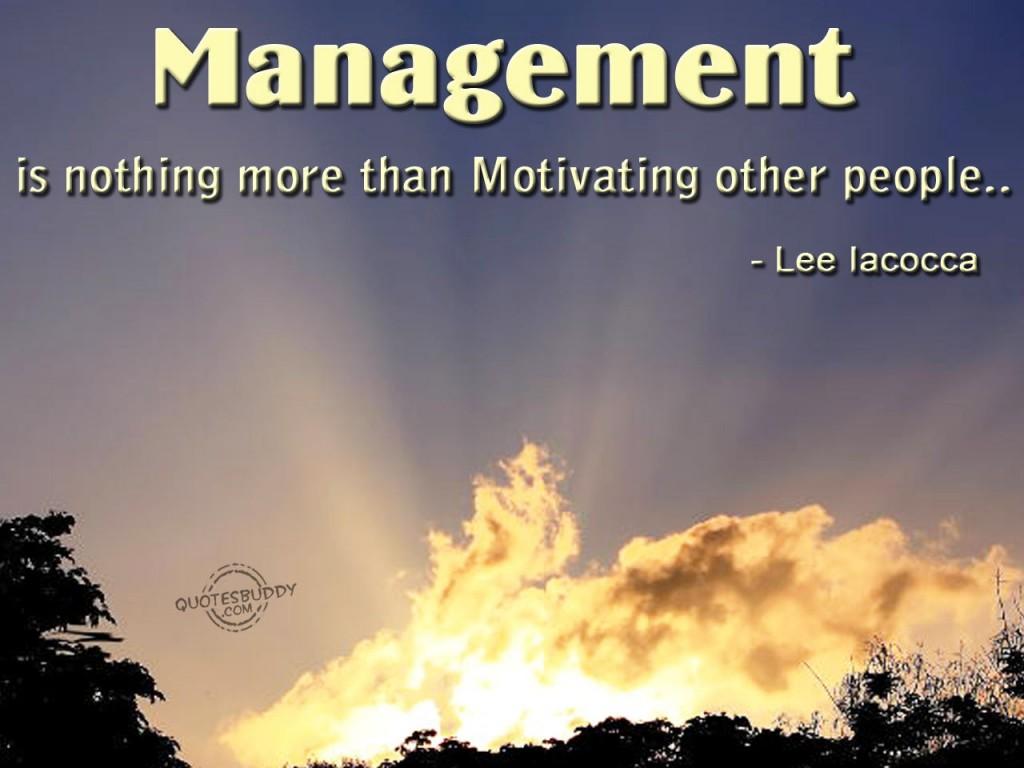 Famous Management Quotes. QuotesGram