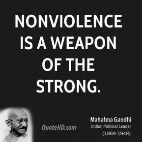 Non-Violence Mahatma Gandhi