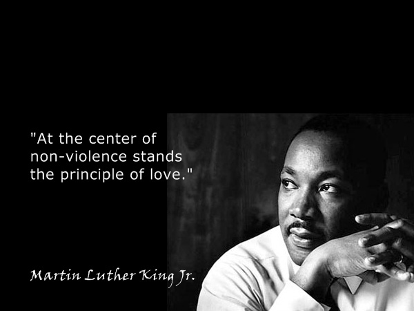 """martin luther king jr and nonviolent Memphis, tenn—the daughter of the rev martin luther king jr remembered  him as """"the apostle of nonviolence"""" as admirers marked the."""