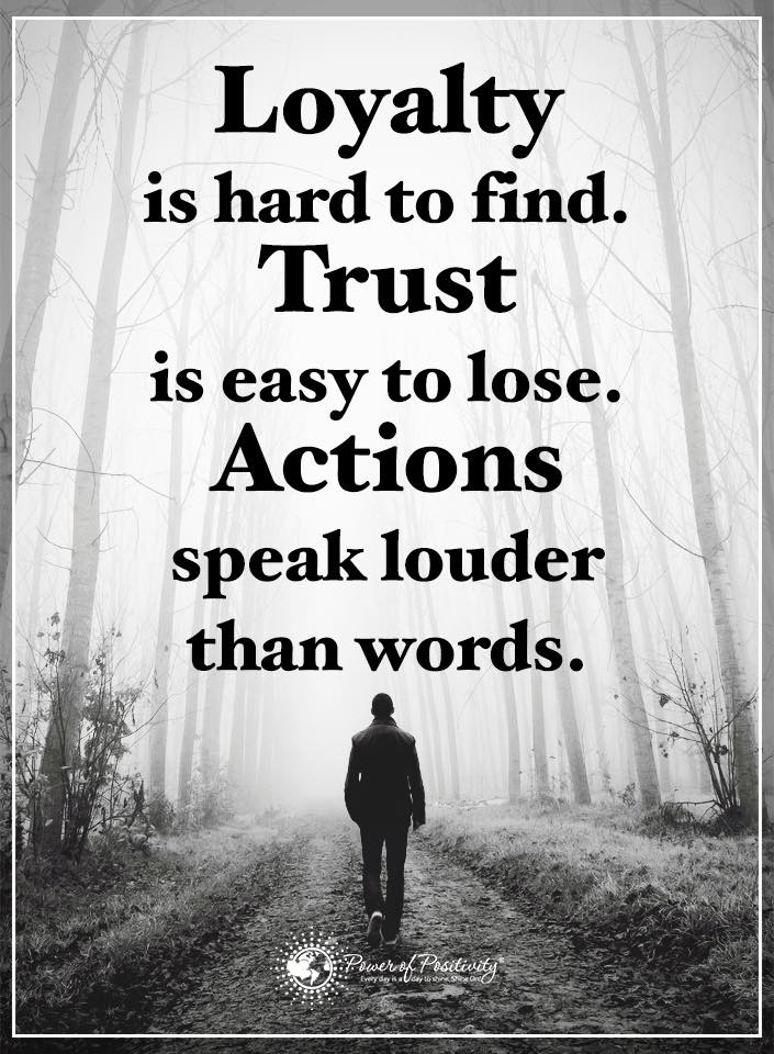 actions speak louder then words Leaders build trust through the authenticity of their actions it comes from a  conscious effort to walk the talk, keep promises and align.