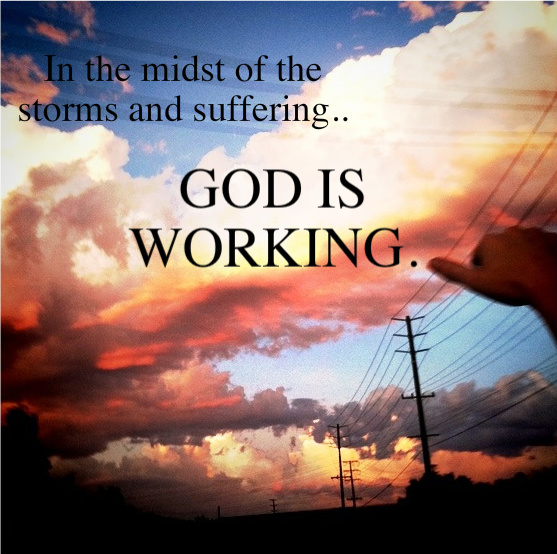 where is god in the midst Does god suffer by thomas weinandy  we may intellectually grapple with the mystery of god in the midst of our suffering however, in the end, it is only in.