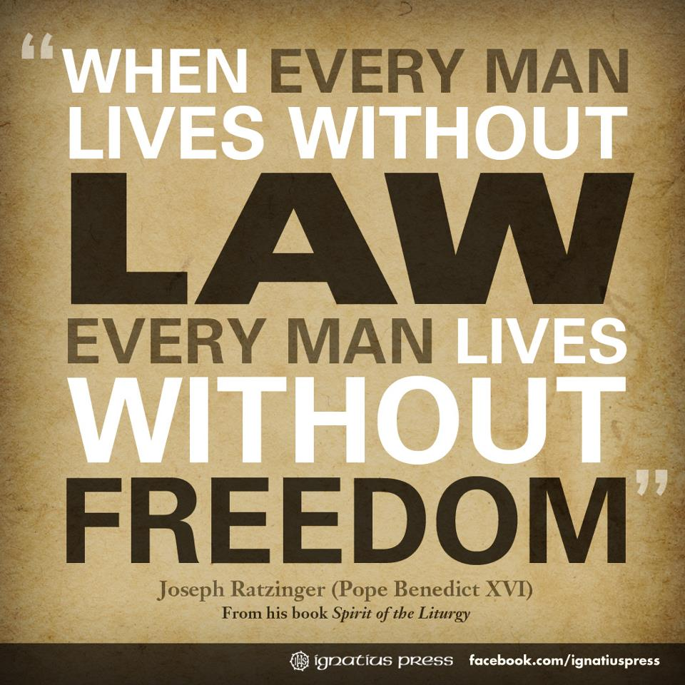 law and freedom Law and liberty's focus is on the content, status, and development of law in the context of republican and limited government and the ways that liberty and law and law and liberty mutually reinforce the other.