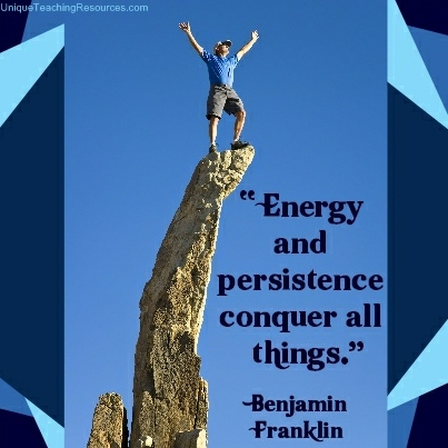 Famous Persistence Quotes with Images - Persistent-energy-and-persistence-conquer-all-things - Benjamin Franklin