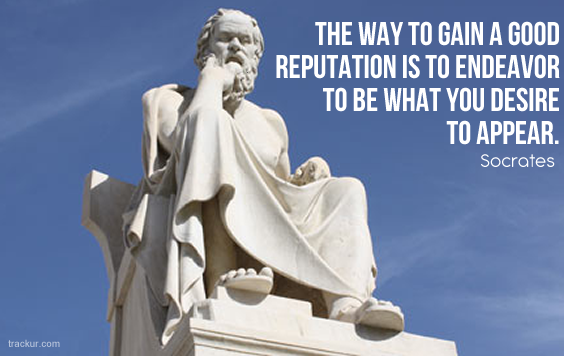 """socrates and his reputation as a wise man Excerpt from """"the apology of socrates""""  this reputation of mine has come of a certain sort of wisdom which i possess  that god only is wise and by his ."""