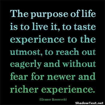 Famous quotes about life experiences