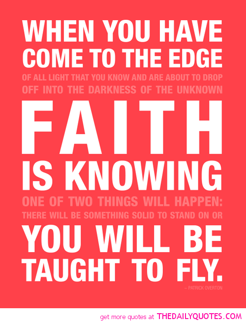 inspiring quotes and sayings about faith with images