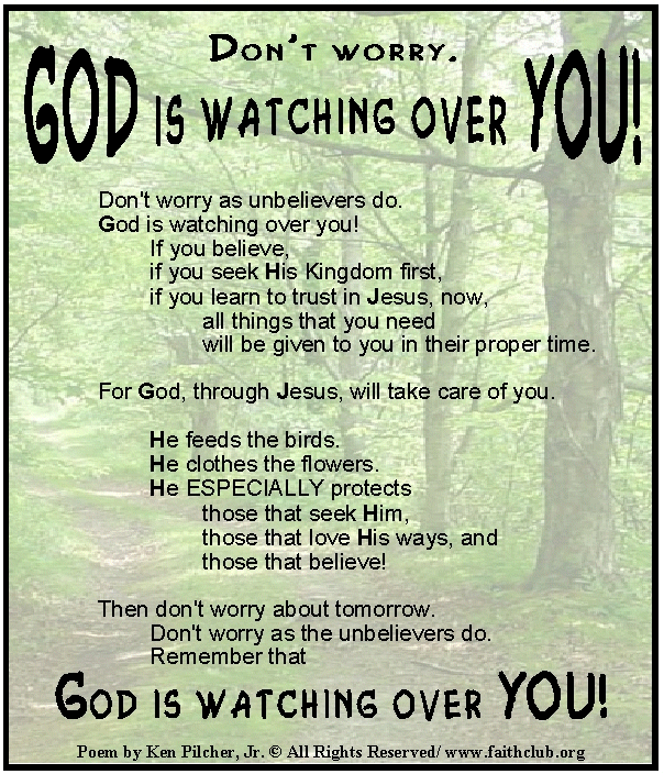 watching over you: