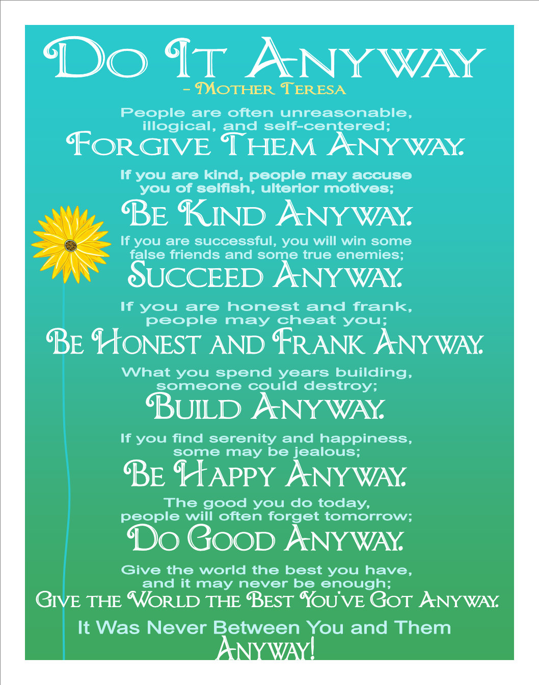 Be kind anyway poem poems motivational and inspirational quotes for the mind the mother teresa thecheapjerseys Gallery