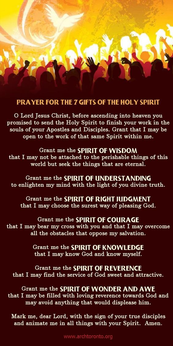 prayers, preayer, God, Lord, Jesus about the spirit of wisdom, the spirit of knowledge, courage, understanding, reverence and wonder and wae.