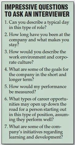 Effective Ways to Answer Interview Questions With Some Well Articulated Answers - Questions to Ask Your Interviewer - good-impressive-questions-to-ask-the-person-who-is-interviewing-you-at-a-job-interview.