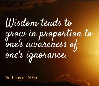 Anthony-De-Mello-quote-aboyr-becoming-wise-in-life-by-having-the-awareness-of-your-ignorance-in-life-positive-inspiring-quote-and-message.