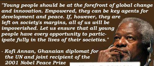 Kofi-Annan-quote-and-image-about-young-people-feeling-empowered-inspiring-and-uplifting-quotes-and-images.
