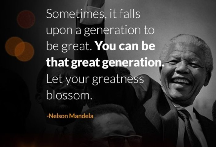 Inspirational And Motivational Nelson Mandela Mother Teresa And