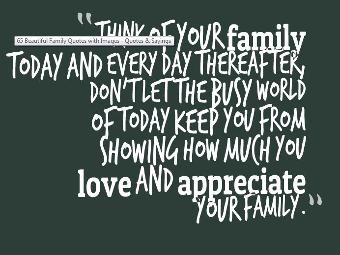 Living in a Happy Home Great Inspirational Family Quotes and ...